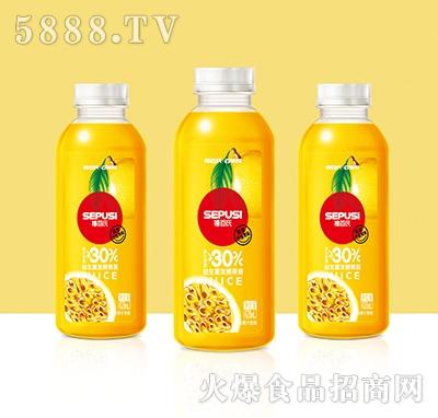 禧百氏百事悦百香果益生菌发酵复合果汁428ml