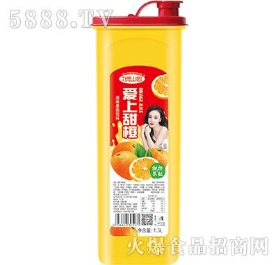 绿山园爱上甜橙汁果肉饮料1.5L
