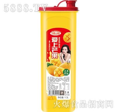 绿山园爱上芒果汁果肉饮料1.5L