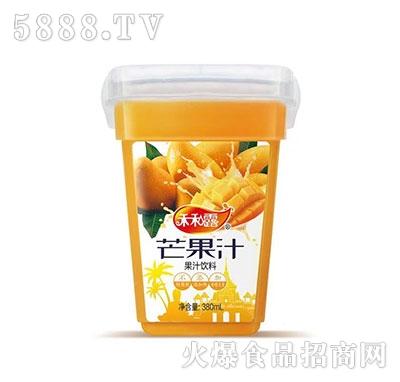 禾和露芒果汁果汁饮料380ml