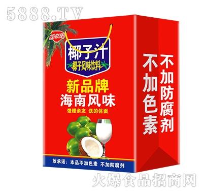 金娇阳椰子汁风味饮料礼盒