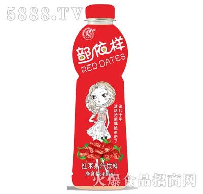雨瑞部依样红枣果汁饮料