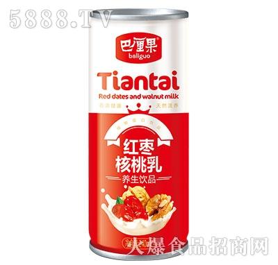 巴厘果红枣核桃乳20罐大包装罐子