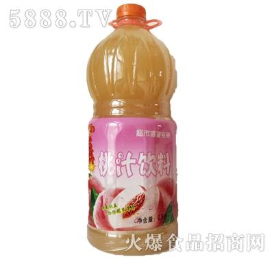 恒伟桃汁饮料2.5L