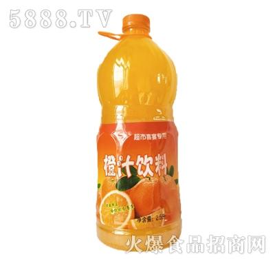 恒伟橙汁饮料2.5L