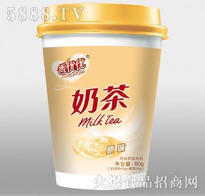 香优优奶茶原味风味饮料80g