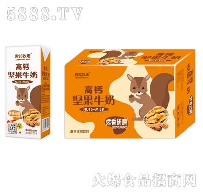 君邦牧场高钙坚果牛奶复合蛋白饮料(礼盒)