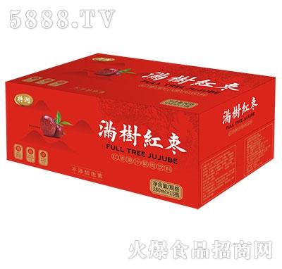特润满树红枣果汁果肉饮料380mlx15瓶