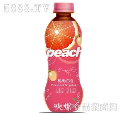 新雨瑞桃桃红柚果茶饮料500ml