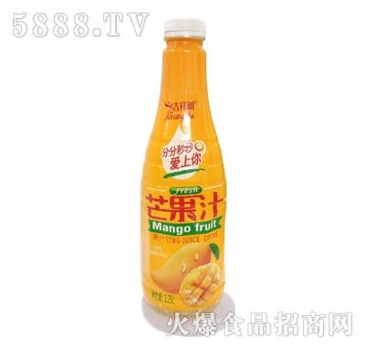 吉祥树芒果汁果汁饮料1.25L