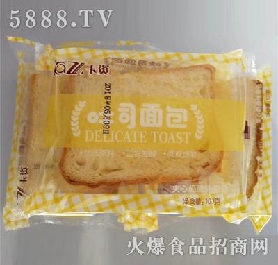 卡资吐司夹心奶酪面包100g