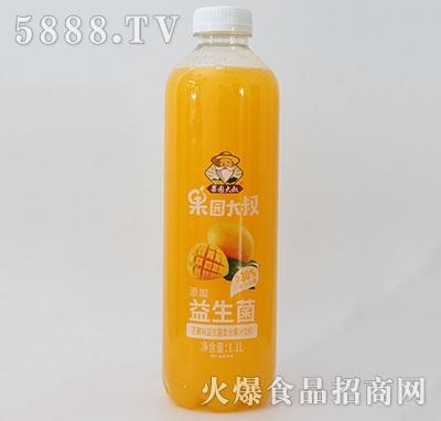 果园大叔益生菌复合芒果汁1.1L
