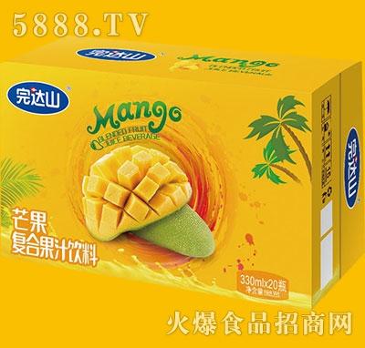 完达山芒果复合果汁饮料330mlx20