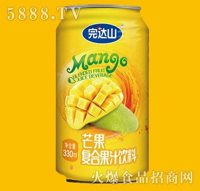 完达山芒果复合果汁饮料330ml