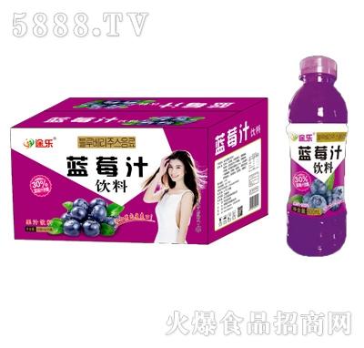 途乐蓝莓汁饮料600mlx15瓶
