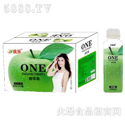 途乐青苹果饮料420mlx15瓶