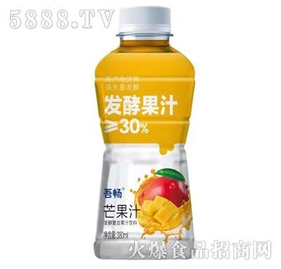 吾畅芒果汁复合果汁饮料380ml
