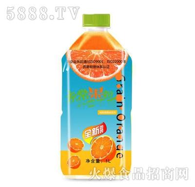 灰常果粒果汁饮料1L