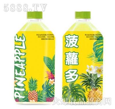 菠萝多果汁饮料1L