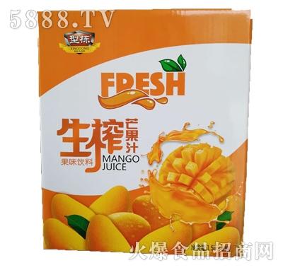 型动生榨芒果果汁饮料1.5Lx6瓶