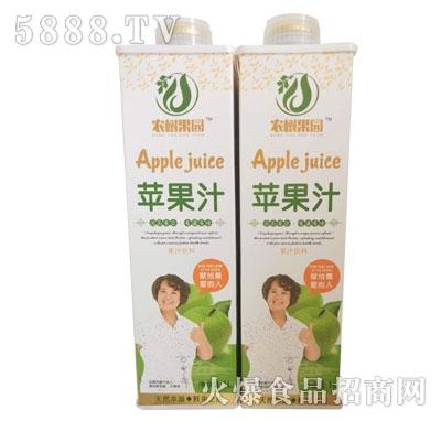 农树果园苹果汁1L(瓶)