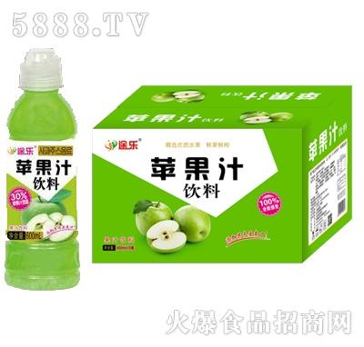 途乐鲜果鲜榨苹果汁饮料600ml