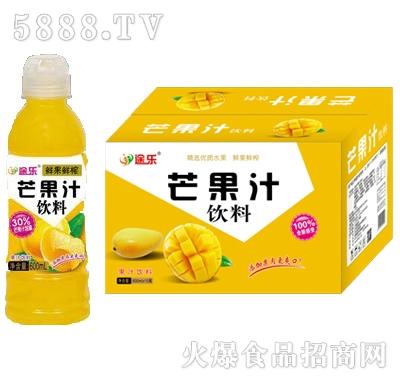 途乐鲜果鲜榨芒果汁饮料600ml