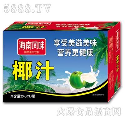 豪阳海南风味椰汁植物蛋白饮料(箱)