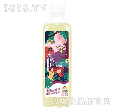 果园大叔水蜜桃青梅味复合果汁480ml