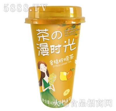 佳因美400ml金桔柠檬茶