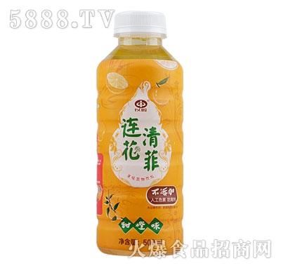 以岭连花清菲植物饮料甜橙味500ml