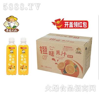 果园大叔橙味果汁410mlx15瓶