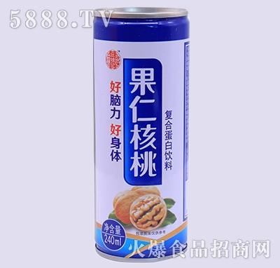 庄锦记果仁核桃蛋白饮料240ml