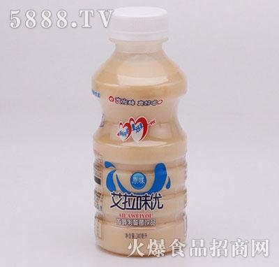 艾拉味优乳酸菌原味直饮340ml