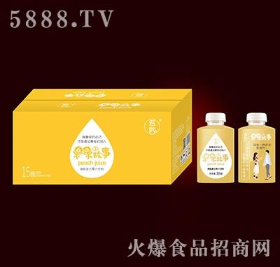 果果故事黄桃复合果汁饮料350mlx15瓶