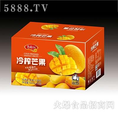 奇福记冷榨芒果果汁饮料550mlx15瓶