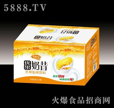 奇福记优果奶昔芒果乳味饮料450mlx15瓶
