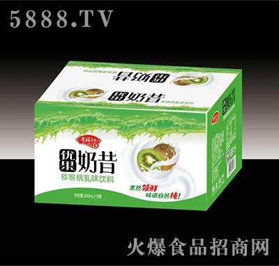 奇福记优果奶昔猕猴桃乳味饮料450mlx15瓶