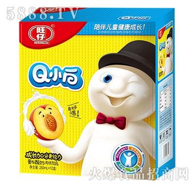 旺仔Q小白蛋白酸奶风味饮品250mlx12