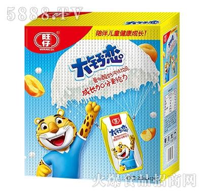 旺仔大钙恋蛋白酸奶风味饮品250mlx12