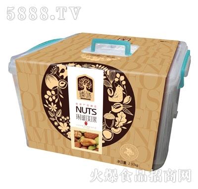 雪谷鹤环球美果坚果礼盒