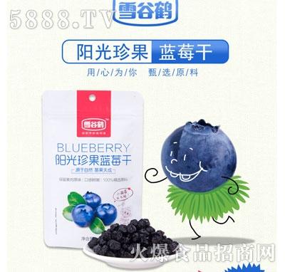 雪谷鹤蓝莓干