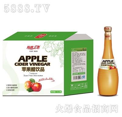 海峡之恋苹果醋1.5L×6瓶