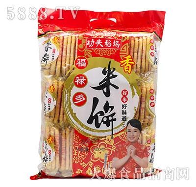 功夫稻场香米饼500g