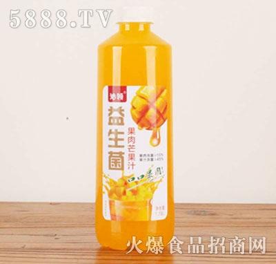 沁领益生菌果肉芒果汁1.18L