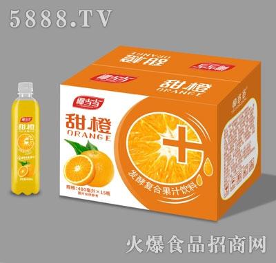 椰当当甜橙发酵复合果汁饮料480mlX15
