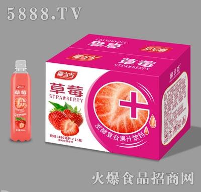 椰当当草莓发酵复合果汁饮料480mlX15