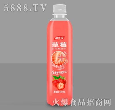 椰当当草莓发酵复合果汁饮料480ml