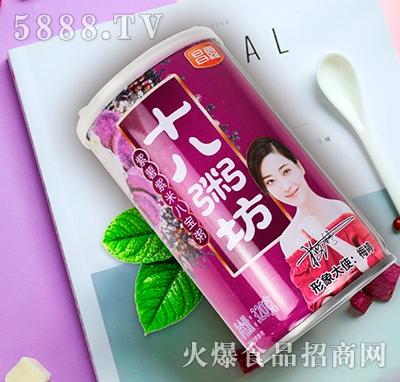十八粥坊紫薯紫米八宝粥罐装320g