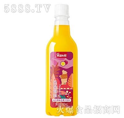 果园大叔益生菌百香果汁410ml